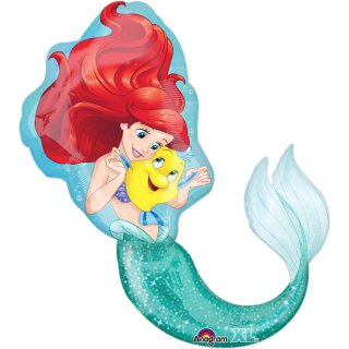 Folienballon Little Mermaid groß