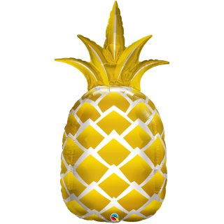 Folienballon Golden Pineapple
