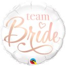 Folienballon Team Bride